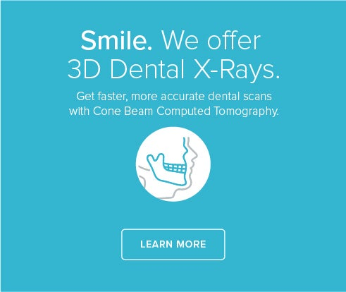 We offer CBCT Scans. Book an appointment.